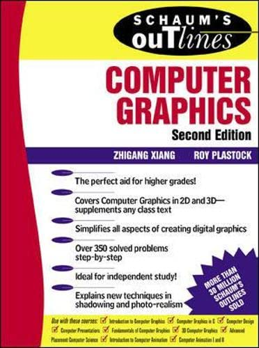 9780071357814: Schaum's Outline of Computer Graphics 2/E (Schaum's Outline Series)