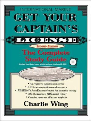 9780071358194: Get Your Captain's License: The Complete Study Guide, Second Edition