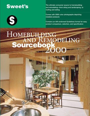9780071358323: Homebuilding and Remodeling Sourcebook 2000