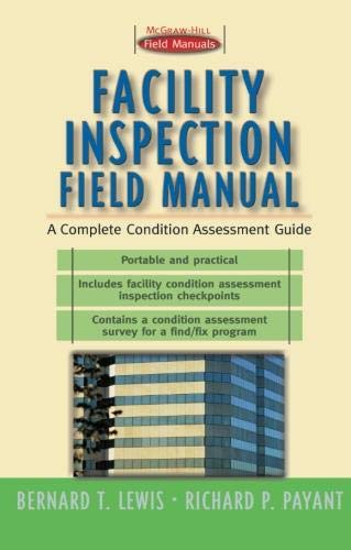 9780071358743: Facility Inspection Field Manual: A Complete Condition Assessment Guide