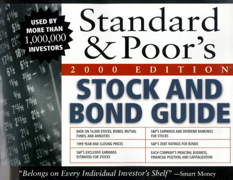9780071358880: Standard & Poor's Stock & Bond Guide, 2000 Edition