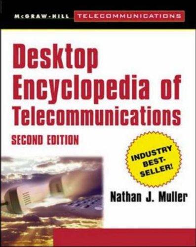 9780071358934: Desktop Encyclopedia of Telecommunications (McGraw-Hill Series on Telecommunications)