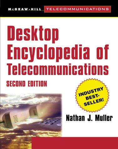 9780071358934: Desktop Encyclopedia of Telecommunications