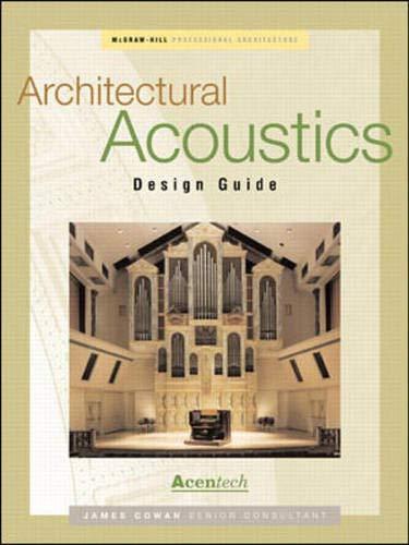 9780071359382: Architectural Acoustics Design Guide (Professional Architecture)