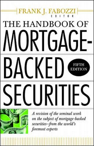 9780071359467: The Handbook of Mortgage Backed Securities