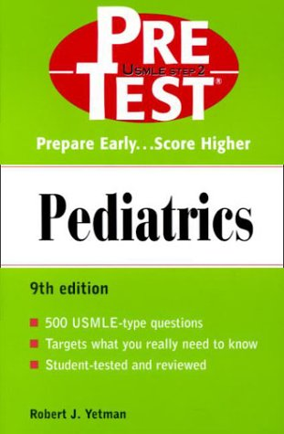 9780071359559: Pediatrics: PreTest Self-Assessment and Review