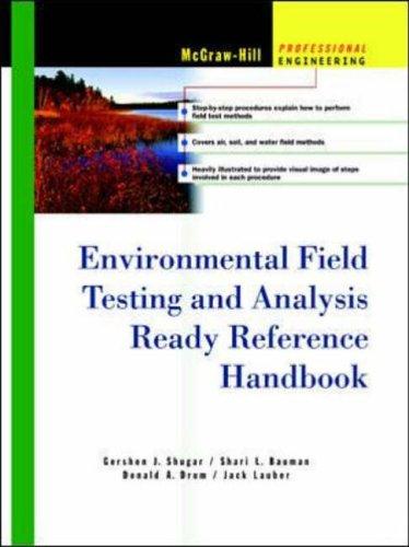 9780071359641: Environmental Field Testing and Analysis Ready Reference Handbook