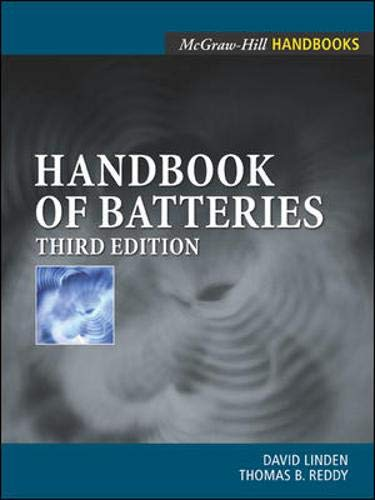 9780071359788: Handbook Of Batteries