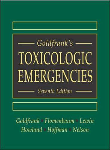 9780071360012: Goldfrank's Toxicologic Emergencies