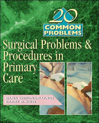 9780071360029: 20 Common Problems: Surgical Problems And Procedures In Primary Care