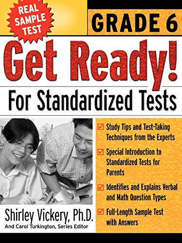 9780071360159: Get Ready! For Standardized Tests : Grade 6