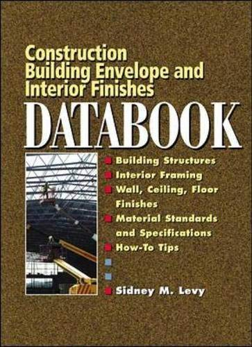 9780071360227: Building Envelope and Interior Finishes Databook