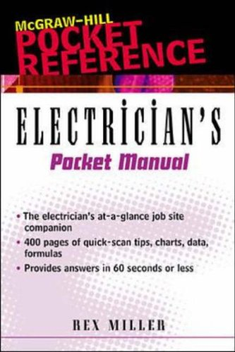 9780071360265: Electrician's Pocket Manual: 501 Facts and Figures (Electrical construction/pocket engineering)