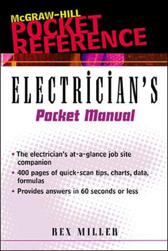 9780071360265: Electrician's Pocket Manual