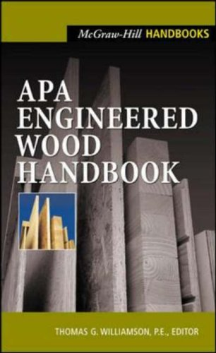 9780071360296: APA Engineered Wood Handbook (McGraw-Hill Handbooks)