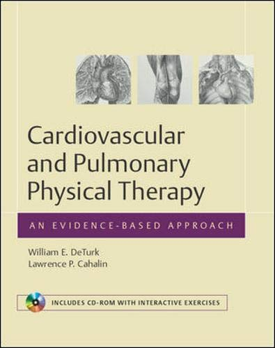 9780071360487: Cardiovascular and Pulmonary Physical Therapy: An Evidence-based Approach