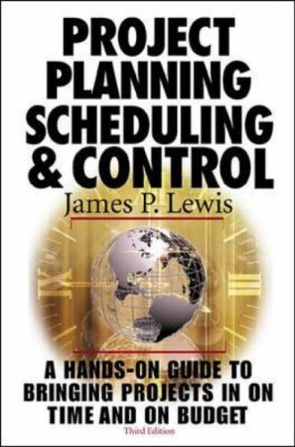 9780071360500: Project Planning, Scheduling and Control
