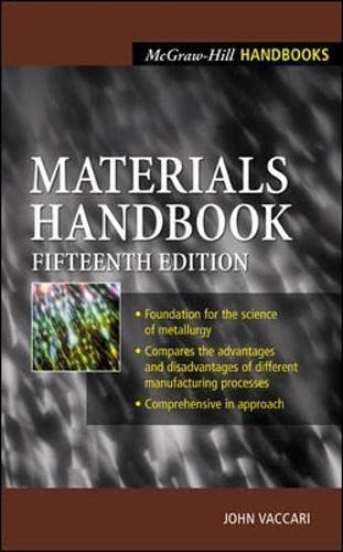 9780071360760: Materials Handbook: An Encyclopedia for Managers, Technical Professionals, Purchasing and Production Managers, Technicians and Supervisors (McGraw-Hill Handbooks)