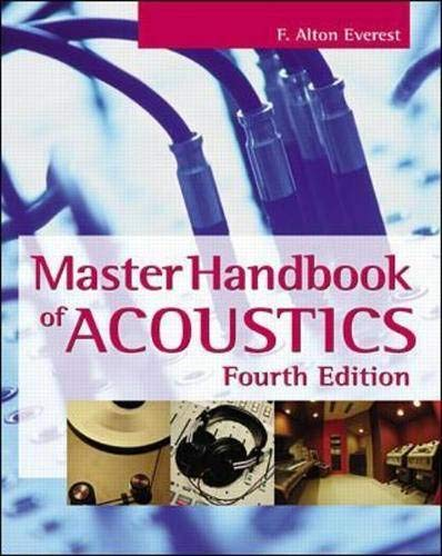 9780071360975: Master Handbook of Acoustics (TAB Electronics Technical Library)