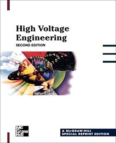 High Voltage Engineering (Electronics): Naidu, M