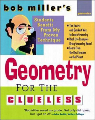 9780071361095: Bob Miller's Geometry for the Clueless