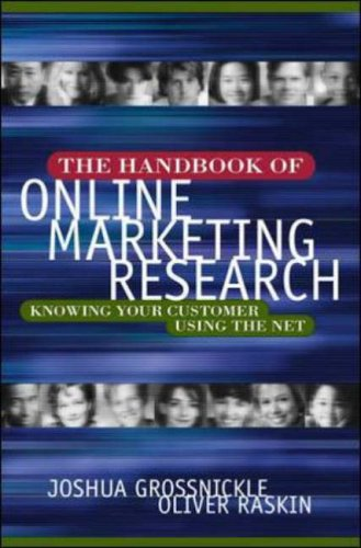 9780071361149: The Handbook of Online Marketing Research: Knowing Your Customer Using the Net