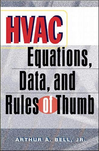 9780071361293: HVAC Equations, Data and Rules of Thumb