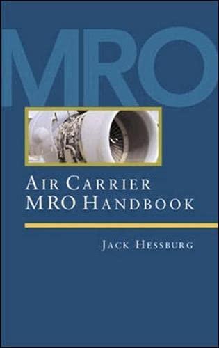 9780071361330: Air Carrier MRO Handbook (An aviation week book)