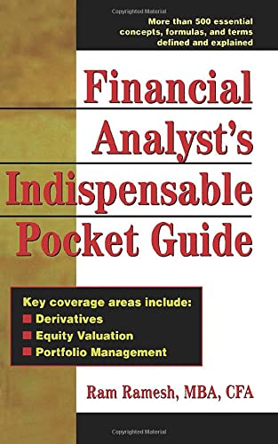 9780071361569: Financial Analyst's Indispensable Pocket Guide
