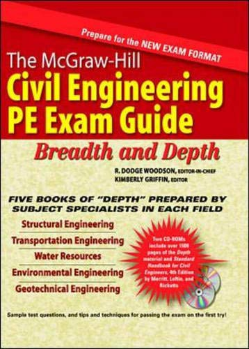 9780071361774: The McGraw-Hill Civil Engineering PE Exam Guide: Breadth and Depth