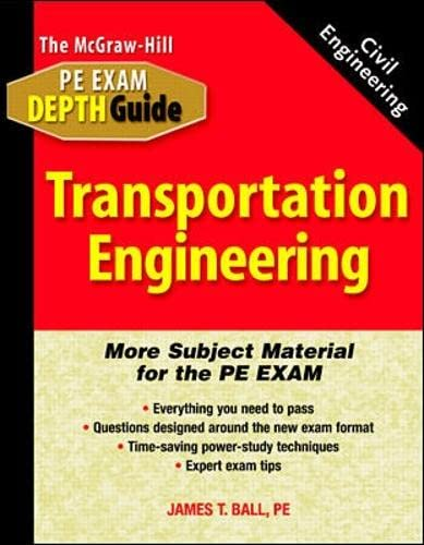 9780071361804: Transportation Engineering