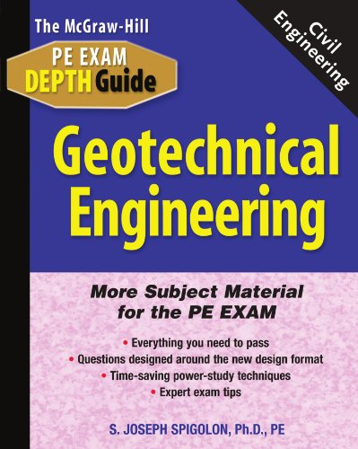 9780071361842: GEOTECHNICAL ENGINEERING (Exam Depth Guides)