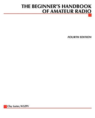 9780071361873: Beginner's Handbook of Amateur Radio (TAB Electronics Technical Library)