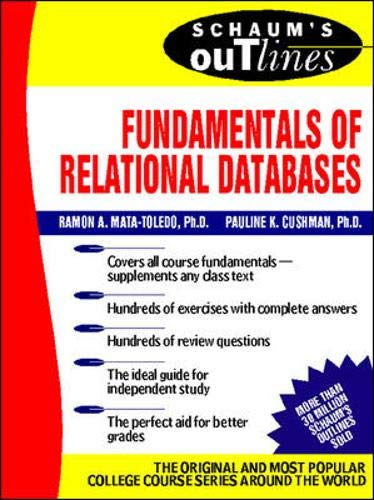 9780071361880: Schaum's Outline of Fundamentals of Relational Databases