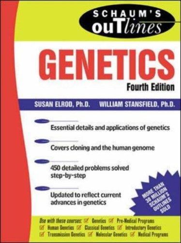 9780071362061: Schaum's Outline Of Genetics (Schaum's Outline Series)