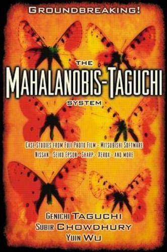 9780071362634: The Mahalanobis-Taguchi System