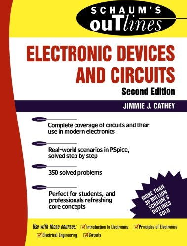 9780071362702: Schaum's Outline of Electronic Devices and Circuits, Second Edition (Schaums' Engineering)