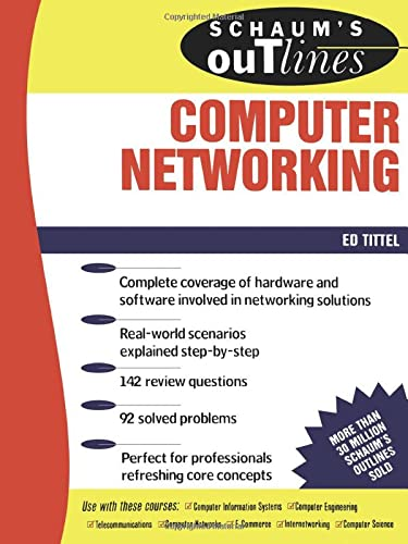 9780071362856: Schaum's Outline of Computer Networking