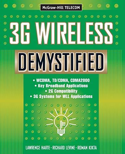 9780071363013: 3g Wireless Demystified (Telecommunications Demystified)