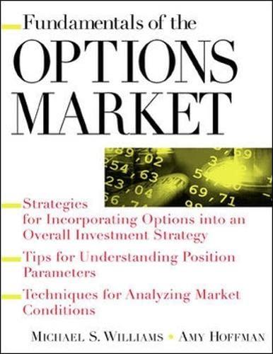 9780071363181: Fundamentals of Options Market (Fundamental of investing)
