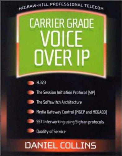 9780071363266: Carrier Grade Voice Over IP
