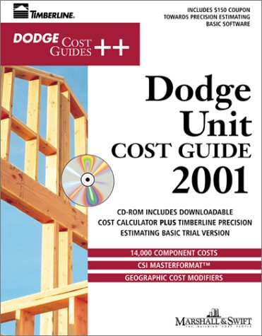9780071363402: Dodge Unit Cost Guide 2001 (With CD-ROM)