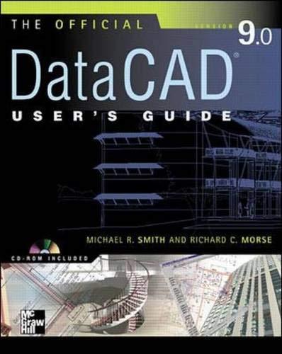 9780071363563: Official DataCAD User's Guide (Starburst 9.0)