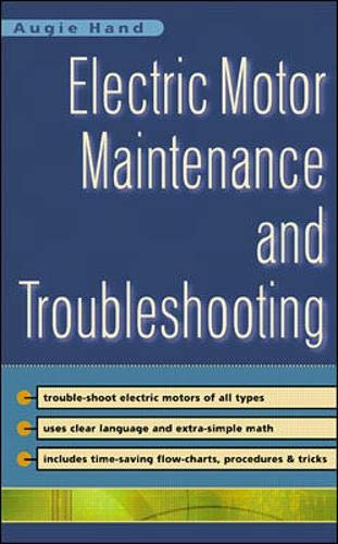 9780071363594: Electric Motor Maintenance and Troubleshooting