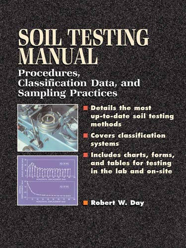 9780071363631: Soil Testing Manual: Procedures, Classification Data, and Sampling Practices