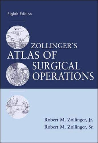 9780071363785: Zollinger's Atlas of Surgical Operations, Eighth Edition (Zollinger, Zollinger's Atlas of Surgical Operations)