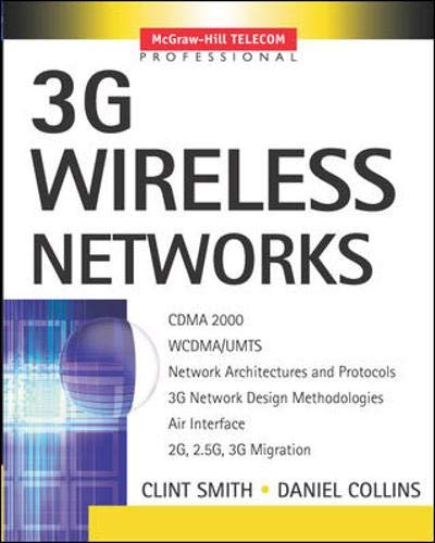 9780071363815: 3G Wireless Networks
