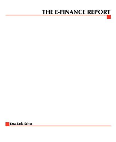 9780071364270: The E-Finance Report
