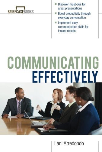 9780071364294: Communicating Effectively (Briefcase Books Series)