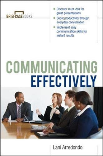 9780071364294: Communicating Effectively (The Briefcase Books)